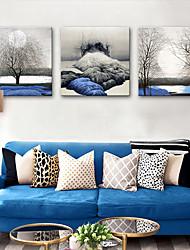 cheap -Canvas Print Rustic Modern, Three Panels Canvas Square Print Wall Decor Home Decoration