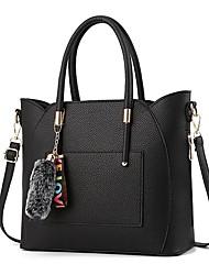 preiswerte -Damen Taschen PVC Umhängetasche Reißverschluss für Normal Grau / Gelb / Khaki