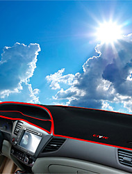 abordables -Automobile Matrice de tableau de bord Tapis Intérieur de Voiture Pour Honda 2011 2012 2013 2014 2015 2016 Civic