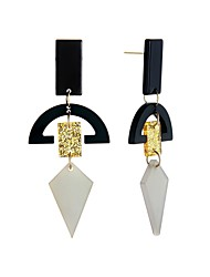 cheap -Women's Drop Earrings Acrylic Hiphop Gothic Korean Acrylic Alloy Geometric Jewelry Holiday Date