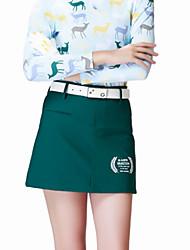 cheap -Women's Golf Skirt Zip Top Fast Dry Windproof Wearable Breathability Golf