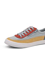 cheap -Men's Canvas Summer Comfort Sneakers Red / Blue / Orange / Black