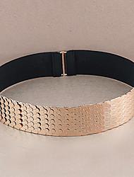 cheap -Women's Casual Fabric Waist Belt