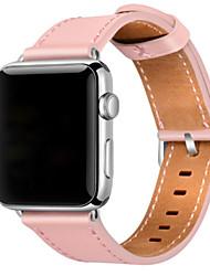 economico -Cinturino per orologio  per Apple Watch Series 3 / 2 / 1 Apple Chiusura moderna Pelle Custodia con cinturino a strappo