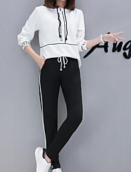 economico -Per donna Felpa con cappuccio - Con stampe Pantalone