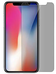 Недорогие -asling экран протектор яблоко для iphone x закаленное стекло 1 шт защитник экрана конфиденциальность антишпион анти-отпечаток