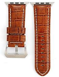 Недорогие -Ремешок для часов для Apple Watch Series 4/3/2/1 Apple Современная застежка Натуральная кожа Повязка на запястье
