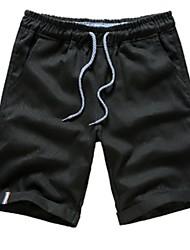 baratos -Homens Esporte & lazer Reto Calças - Sólido / Esportes