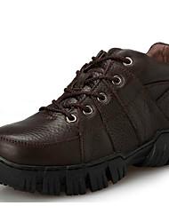preiswerte -Schuhe Leder Herbst / Winter Cowboystiefel / Westernstiefel / Modische Stiefel / Springerstiefel Stiefel Booties / Stiefeletten Schwarz /
