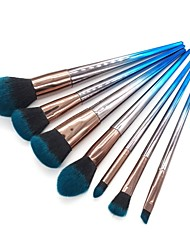 cheap -7 pcs Makeup Brush Set Blush Brush Eyeshadow Brush Lip Brush Eyeliner Brush Powder Brush Foundation Brush Nylon Eco-friendly Soft Full
