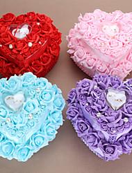 cheap -Textile / Synthetic Ring Pillow Romance / Wedding All Seasons