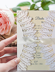 cheap -Gate-Fold Wedding Invitations 30pcs - Invitation Cards Invitation Sample Mother's Day Cards Baby Shower Cards Bridal Shower Cards