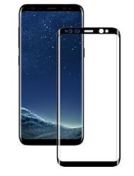 Недорогие -Защитная плёнка для экрана Samsung Galaxy для S9 Закаленное стекло 1 ед. Защитная пленка на всё устройство 3D закругленные углы Против