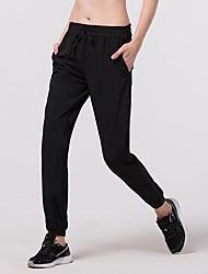 economico -Per uomo A cordoncino Pantaloni da corsa - Nero, Grigio Gli sport Calze / Collant / Cosciali Abbigliamento sportivo Elastico