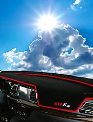 Недорогие -автомобильный Маска для приборной панели Коврики на приборную панель Назначение Kia Все года K4 Keaion
