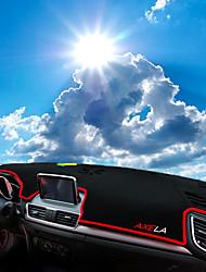preiswerte -Automobil Armaturenbrett Matte Innenraummatten fürs Auto Für Mazda Alle Jahre Axela
