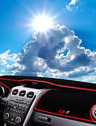 Недорогие -автомобильный Маска для приборной панели Коврики на приборную панель Назначение Mazda Все года CX7