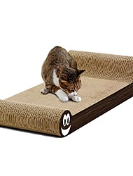 cheap -Interactive Beds Paper & Papercrafting Luxury Designs Multi Color Black Scratch Pad Cardboard Kraftpaper For Cats Environmental Paper Cat
