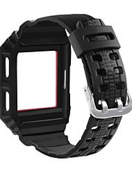 Недорогие -Ремешок для часов для Fitbit ionic Fitbit Современная застежка силиконовый Повязка на запястье