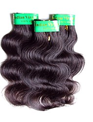 cheap -cheap 6a indian human hair weaves body wave 3 bundles 150g lot natural black color 50g/bundle clearance