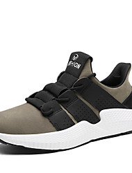 cheap -Men's Shoes Knit Spring Summer Comfort Sneakers for Casual Outdoor Khaki Gray Black