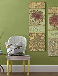 Недорогие -Холст для печати Modern, 2 панели холст Вертикальная С картинкой Декор стены Украшение дома