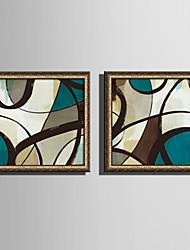 baratos -Abstrato Formas Ilustração Arte de Parede,PVC Material com frame For Decoração para casa Arte Emoldurada Sala de Estar Quarto Cozinha