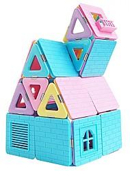 baratos -Blocos Magnéticos / Blocos de Construir 110pcs Arquitetura Transformável Para Meninos Dom