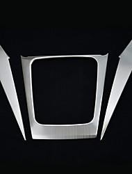 Недорогие -автомобильная коробка передач охватывает DIY автомобильных интерьеров для Subaru 2013 2014 2015 лесника stailess стали
