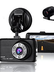 cheap -848 x 480 1280 x 720 1440 x 1080 1920 x 1080 Car DVR 3 inch Dash Camforuniversal Loop-cycle Recording