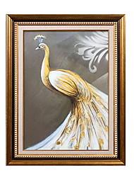 baratos -Vida Imóvel Pintura de Óleo Arte de Parede,Liga de Alúminio Material com frame For Decoração para casa Arte Emoldurada Quarto Interior
