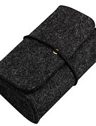 abordables -Sacs de Rangement pour Couleur unie Textile Source d'Energie Clé USB Batterie Externe Disque Dur Ecouteurs / Casque