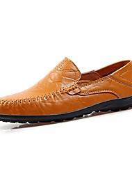 abordables -Homme Chaussures Cuir Nappa / Polyuréthane Printemps / Eté Moccasin / Semelles Légères Mocassins et Chaussons+D6148 Chaussures d'Eau Noir