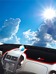 Недорогие -автомобильный Маска для приборной панели Коврики на приборную панель Назначение Chevrolet 2011 2012 2013 Aveo