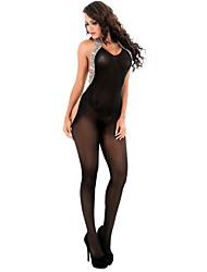 baratos -Mulheres Conjunto Roupa de Noite - Fashion Estampado Leopardo, Leopardo