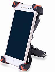 オートバイ バイク 携帯電話 マウントスタンドホルダー 調整可能なスタンド バックルタイプ すべり止め ポリカーボネート ホルダー