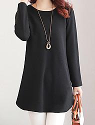cheap -Women's Cotton T-shirt - Solid, Modern Style