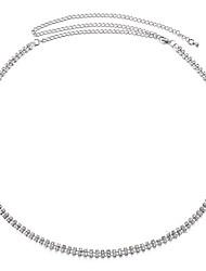 preiswerte -Damen Retro Aleación Kette Silber