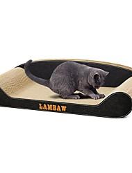 baratos -Brinquedo Para Gato Brinquedos para Animais Gatária Artesanato de Papel Desenho Artístico Luxo Amigo de Animal de Estimação Multi-Côr