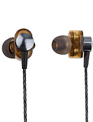 cheap -PHB EP012 Earphone Double moving-coil Super bass