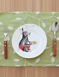 cheap -Ordinary Cotton/Polyester Square Placemat Table Decorations