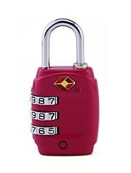Недорогие -механический код блокировка путешествие за границей таможенный код блокировка багажная коробка три булавка навеска tsa331