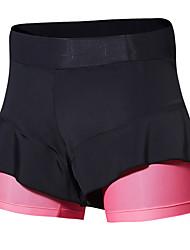 cheap -SANTIC Women's Cycling Padded Shorts Bike Bottoms Classic Black / Pink Bike Wear