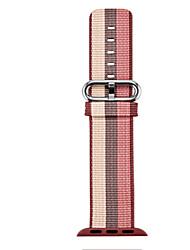 Недорогие -Ремешок для часов для Apple Watch Series 3 / 2 / 1 Apple Спортивный ремешок Нейлон Повязка на запястье