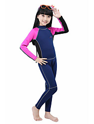 cheap -Bluedive Girls' Boys' 2mm Full Wetsuit Thermal / Warm Quick Dry Ultraviolet Resistant Soft Full Body Compression Nylon Neoprene Diving