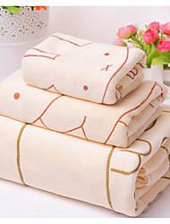 Недорогие -Свежий стиль Банное полотенце, Мода Высшее качество Полиэстер/Хлопок Полиэфирная смесь Полотенце