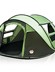 cheap -5 person Backpacking Tent Double Layered Automatic Dome Camping Tent Outdoor for Camping / Traveling 2000-3000 mm 200*280*120 cm