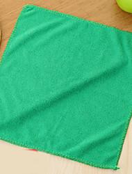 cheap -High Quality 1pc Bamboo Fiber Cleaning Brush & Cloth, 27.5*27.5