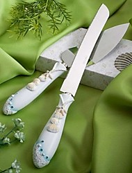 cheap -Resin Romance Fantacy Wedding Gift Box Unique Wedding Décor Cake Topper Cutlery Knives Shovel Cake Accessories