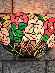 baratos -Regional Luminárias de parede Para Quarto Vidro Luz de parede 220-240V 40W
